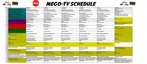 Mego TV Schedule2