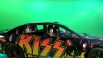 Kiss Green Screen CarSmall