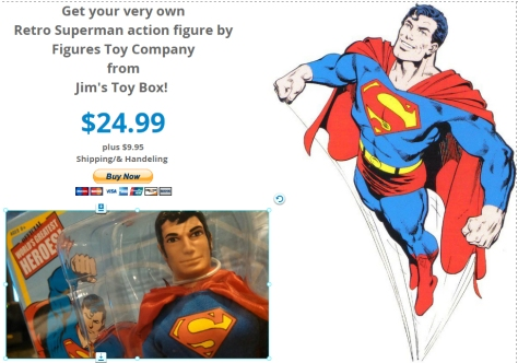 Superman Buy Button