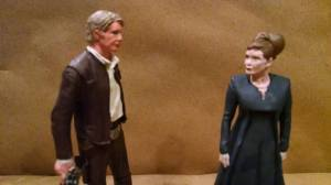 """Han, I wish you would grow old and dusty with me."" ""We're halfway there, Leia. Halfway"""